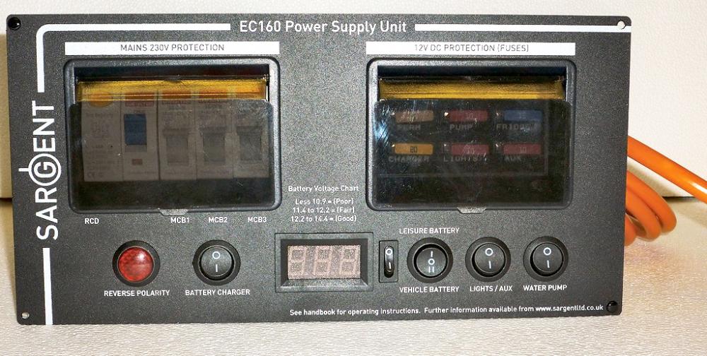 NEW Digital Sargent EC160 Power Supply Unit BLACK